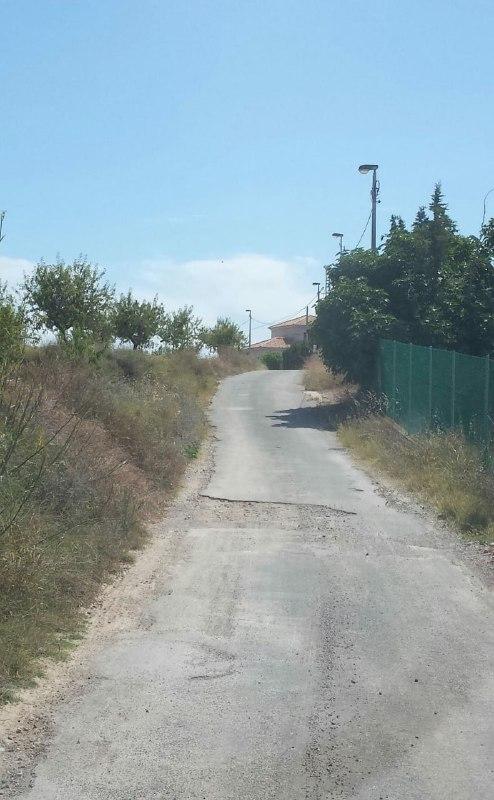 camino Cañavates a San Isidro