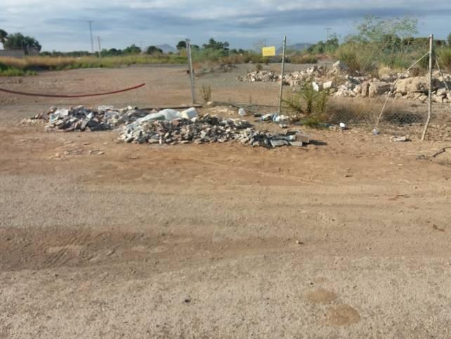 residuos Lomas del Albujon