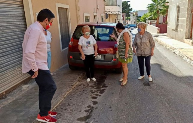 Visita Jesus Gimenez a Barrio Peral 1