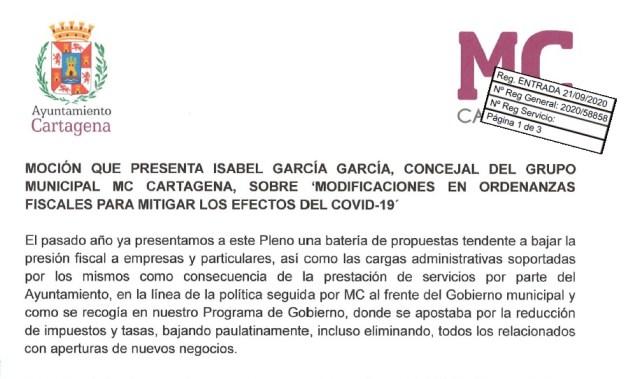 mocion septiembre MC ordenanzas 2021