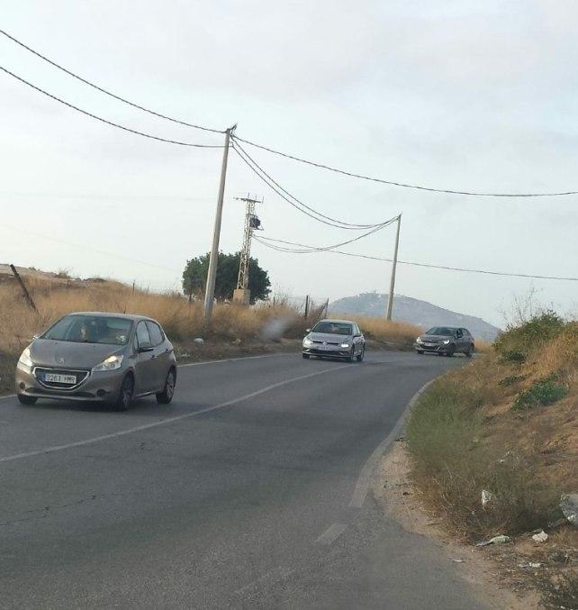 carretera La Asomada