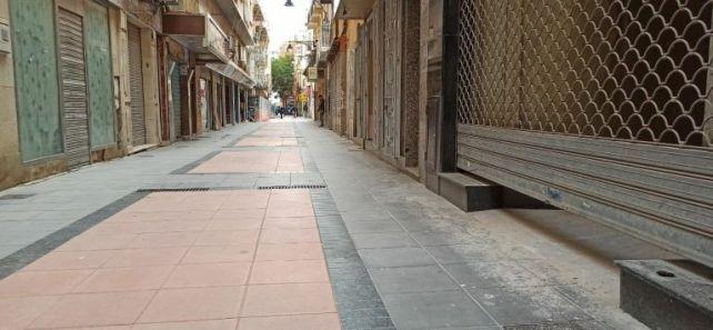 calle San Fernando cierre comercios 1