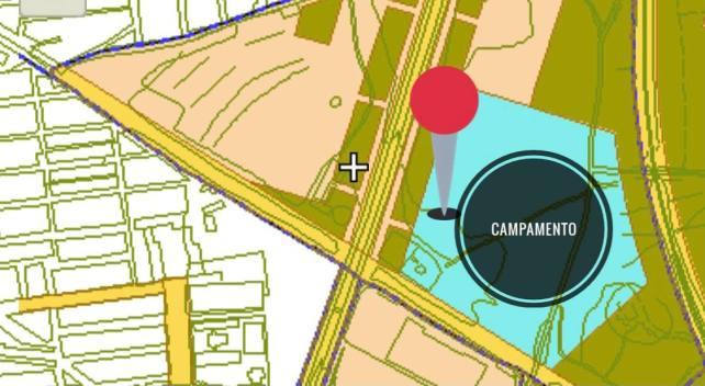Foto ubicacion campamento