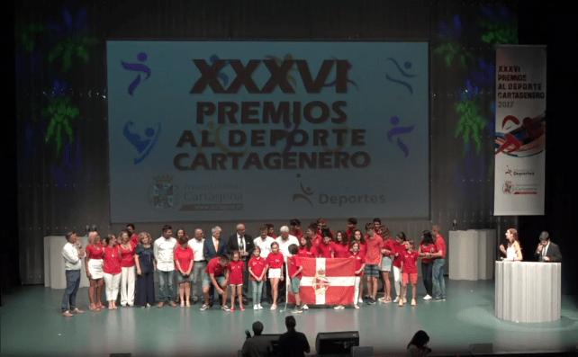 gala al deporte cartagenero 2017